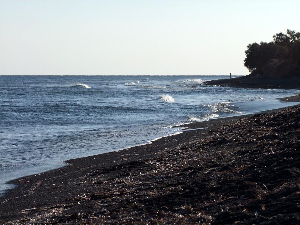 onde alojarse en Santorini