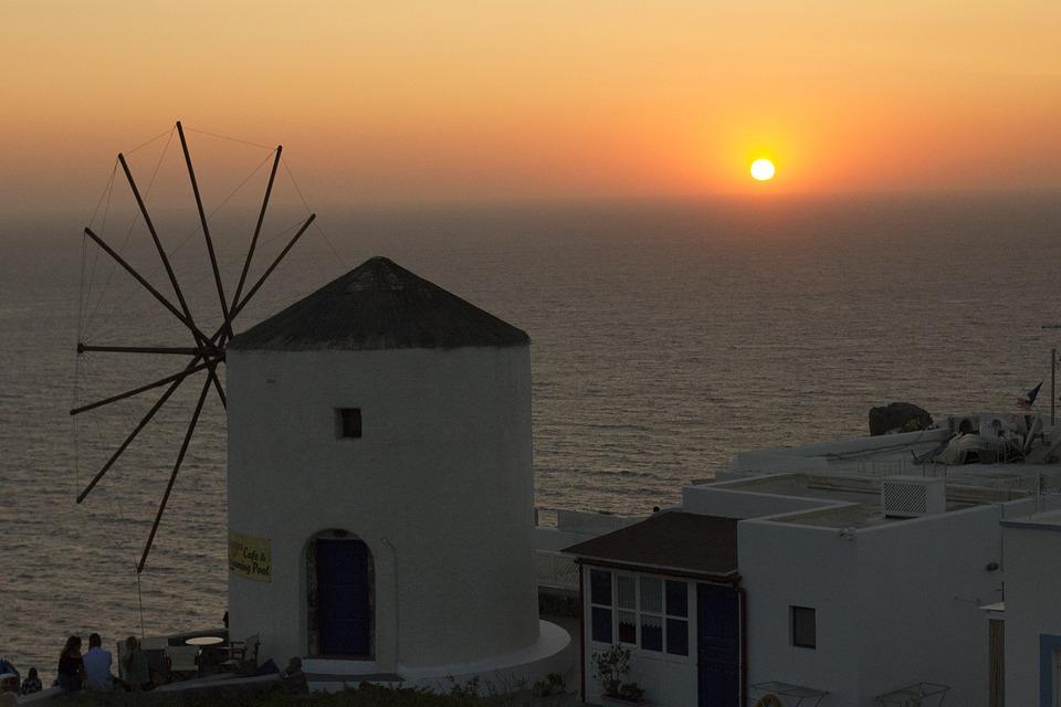 donde alojarse en Santorini