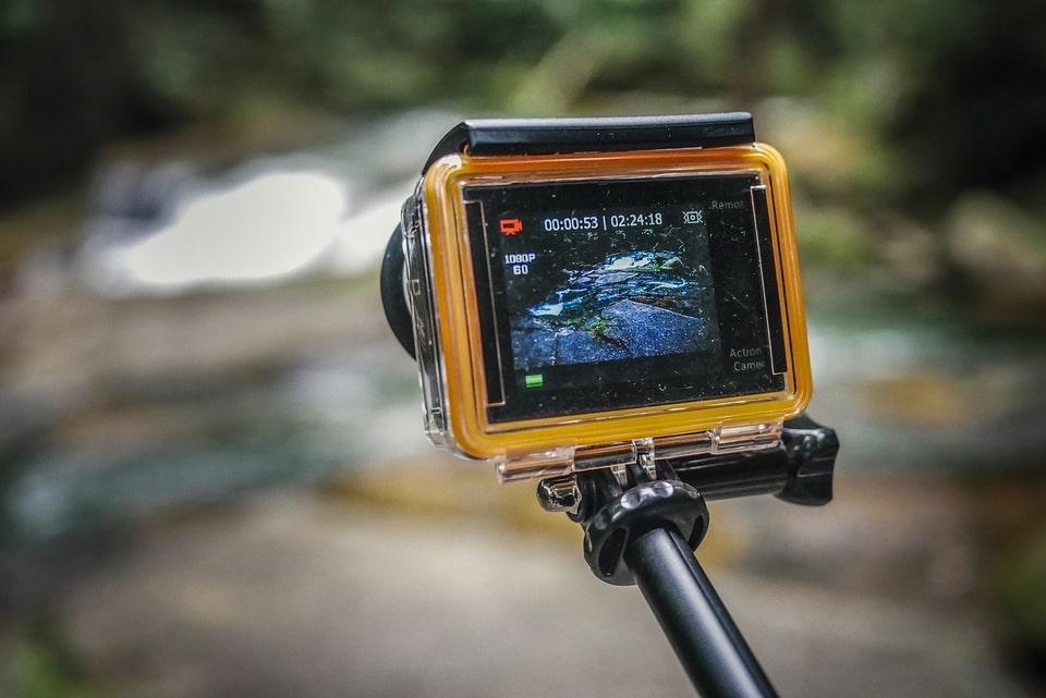 cámaras deportivas para viajar